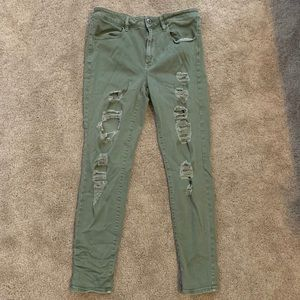 American Eagle Olive green jeans